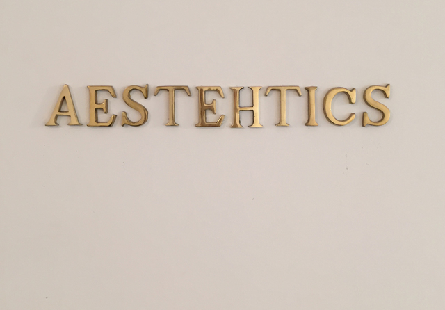 , 'Aesthetics I,' 2016, Sabrina Amrani