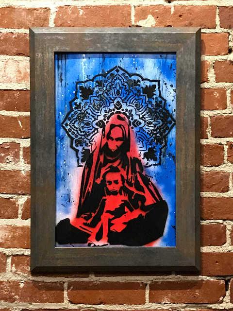 , 'Divine Mother and Child,' 2018, Mason-Nordgauer Fine Arts Gallery