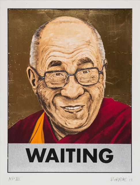 Robbie Wraith, 'Dalai Lama Waiting (Gold Leaf)', 2006-2011, Track 16 Gallery