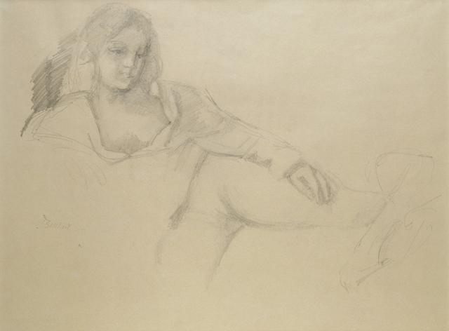 , 'Jeune Fille étendue,' 1972, HDM Gallery
