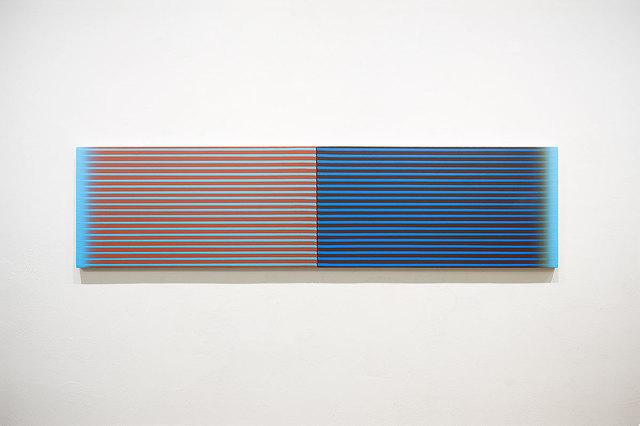 Francisco Suárez, 'Blue Diptych', 2018, Victor Lope Arte Contemporaneo