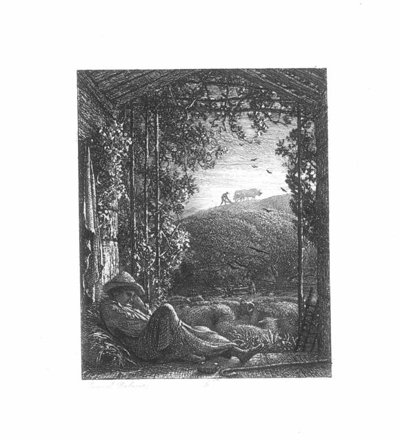 , 'The Sleeping Shepherd,' ca. 1854, The Fine Art Society