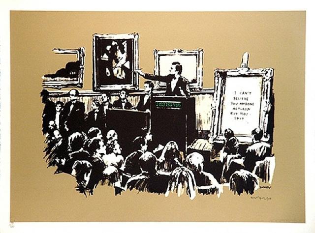 Banksy, 'Sepia Morons ', 2007, Contemporary Art Trader