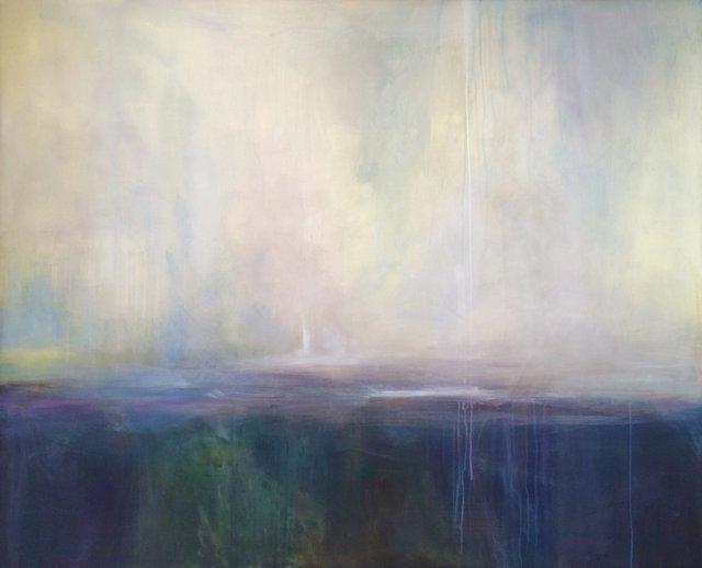 , 'Blue Dusk,' 2018, Ginger Fox Gallery