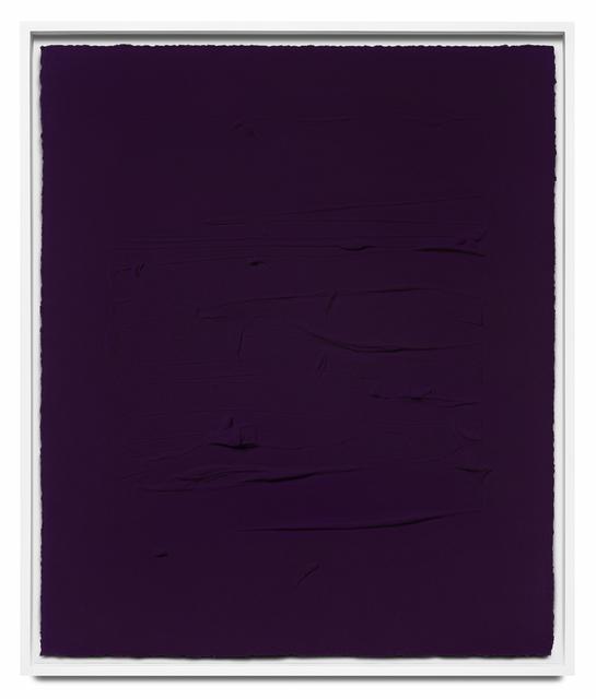 Jason Martin, 'Ultramarine blue/ Quinacridone magenta IV', 2018, STPI