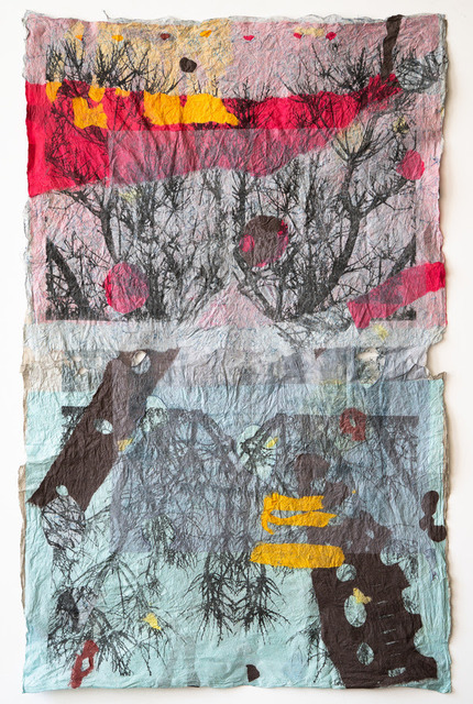 Barbara Straussberg, 'Joomchi/Large Trees Five', 2019, InLiquid