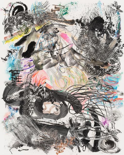 , '500 Brushstrokes #25 五百笔 #25,' 2017, Chambers Fine Art