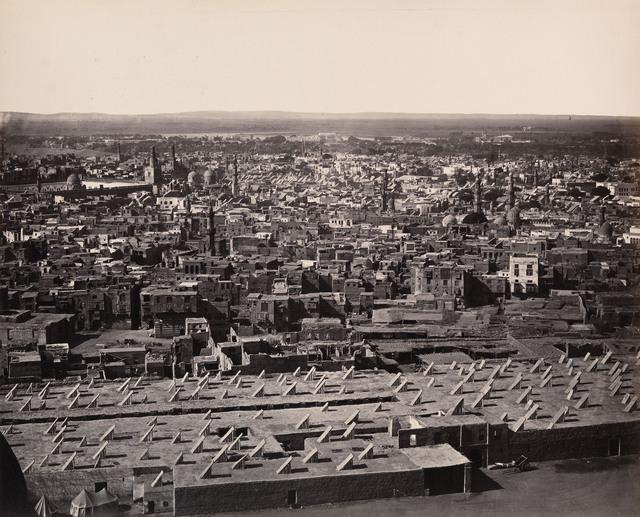 , 'View from the Citadel, Cairo, Egypt,' 1858, Robert Hershkowitz