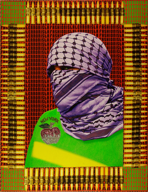 , 'Fashionista Terrorista II (The Walls of Gaza III),' 2011, October Gallery