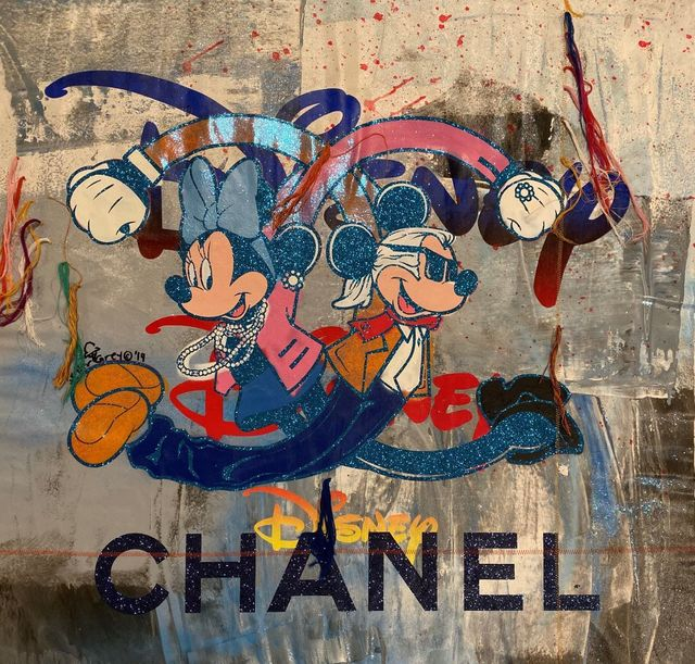 , 'Chanel Twist in Grey and Blue Stitched,' 2019, Avant Gallery