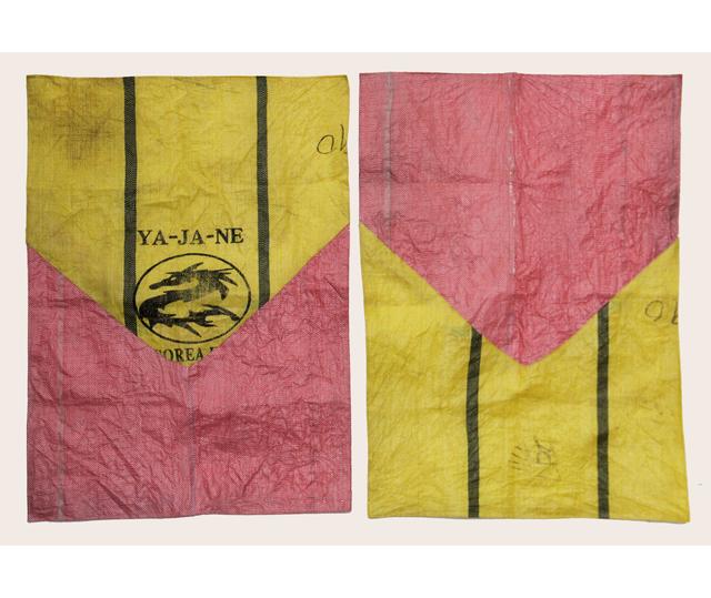 Candelaria Traverso, 'CH'IXIS 3', 2020, Textile Arts, Patchwork on burlap, Herlitzka + Faria