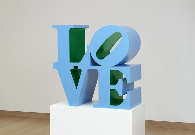 , 'LOVE (Blue outside Green inside),' 1966-1999, Waddington Custot