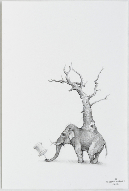 , 'Elephant Tree 2,' 2016, Lora Schlesinger Gallery