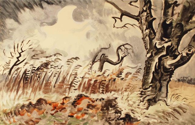 , 'November Storm,' 1950, Montclair Art Museum