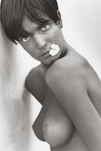 Herb Ritts, 'Stephanie with Flower (c), Los Angeles', 1989, Hamiltons Gallery