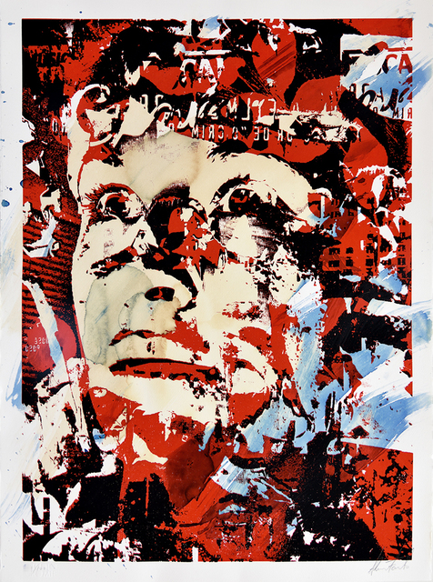 Vhils, 'Out Of Your Comfort Zone', 2011, PRINTS AND PIECES