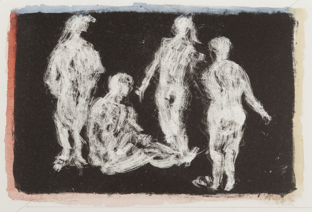 , 'Four Figures,' 1967, Childs Gallery