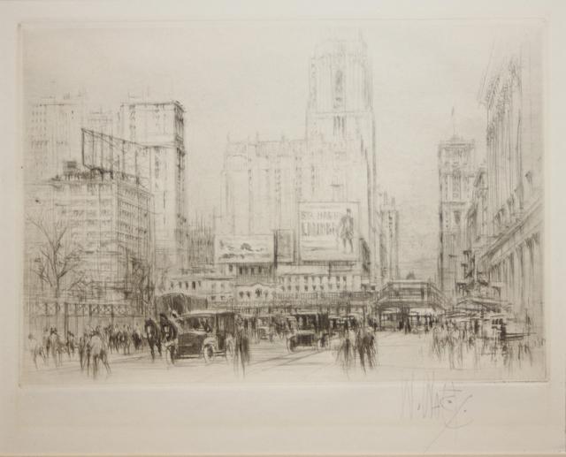 , 'Park Avenue,' 1923, EastCoastArt