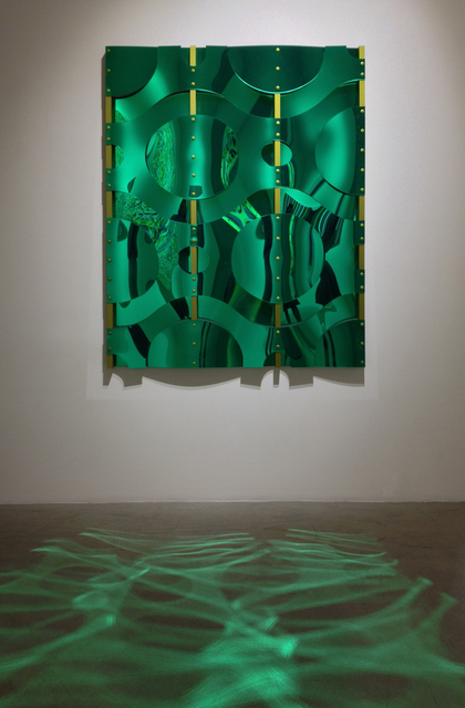 , 'Four 1/2 Cell Green Variegated,' 2011, Quint Gallery