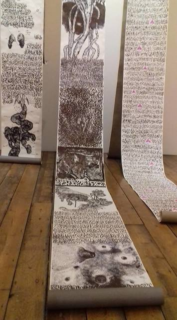 , 'Undefined scrolls,' 2018, AGorgi Contemporary Art Gallery