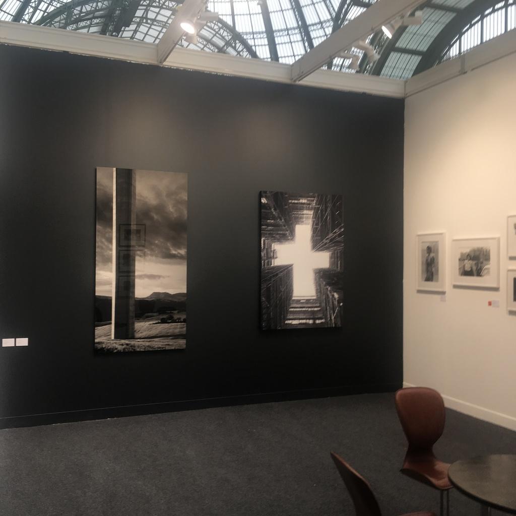 Installation shot Aitor Ortiz at Paris Photo 2018