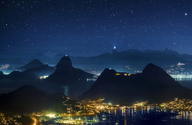 , 'Rio de Janeiro Vista de Niterói,' 2013, Galeria Lume