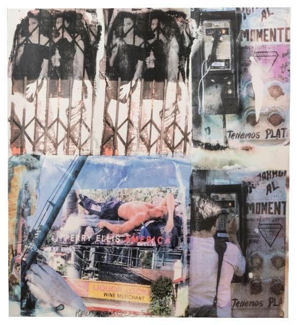 Robert Rauschenberg, 'Los Angeles Revisited #4', 1998, Kogan Amaro