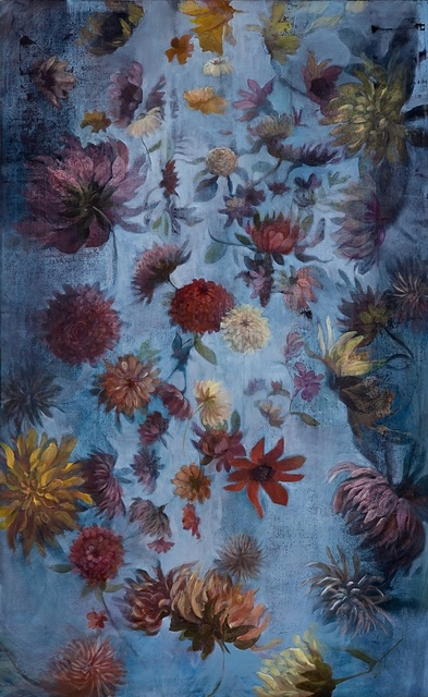 , 'Stormy Dahlias,' 2007, The South Street Gallery