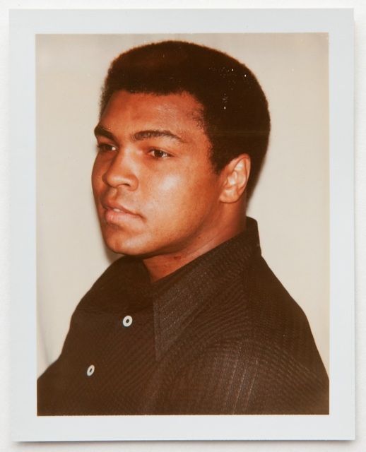 Andy Warhol, 'Andy Warhol, Polaroid Portrait of Muhammad Ali, 1977', 1977, Hedges Projects
