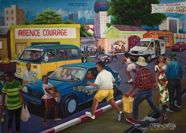 , 'Kinoiseries,' 2018, AfricArt Gallery Hong Kong
