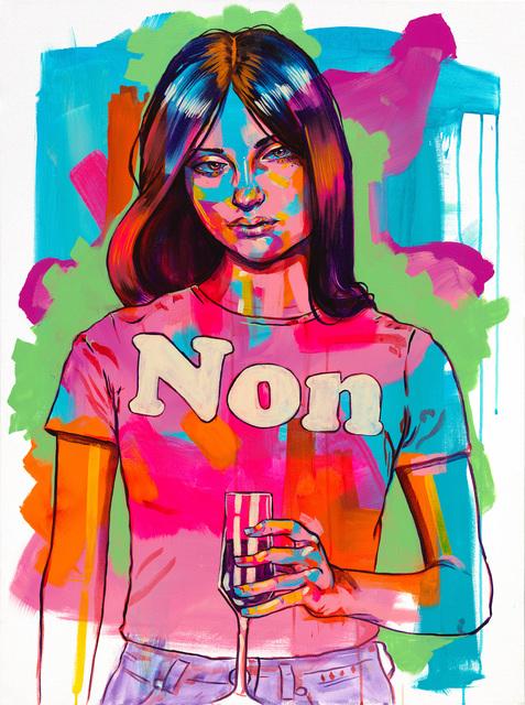 , 'Non,' 2018, Art Attack SF