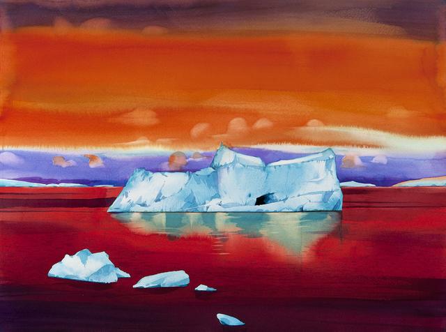 , 'Twilight, Arthur Harbor, Antarctica ,' , Dowling Walsh