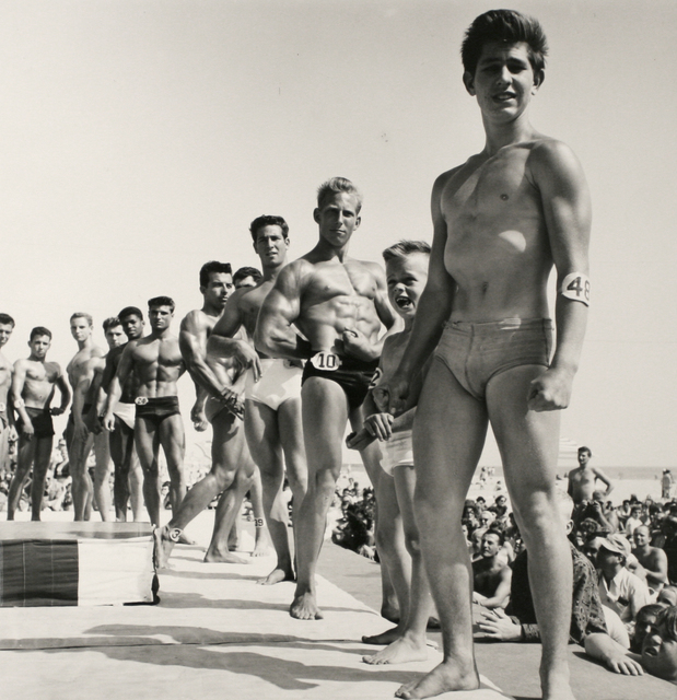 , 'Contestants, Muscle Beach Santa Monica, CA,' 1954, Bruce Silverstein Gallery