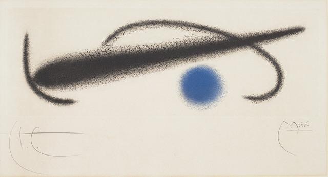 Joan Miró, 'Fusées (Rockets): one plate', 1959, Phillips