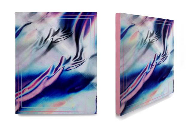 , '++crease,' 2015, Johannes Vogt Gallery