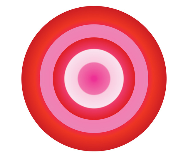 , 'Red and Pink Circle,' , ArtStar