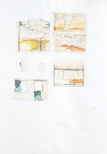 Mario Schifano, 'Two Works', Finarte