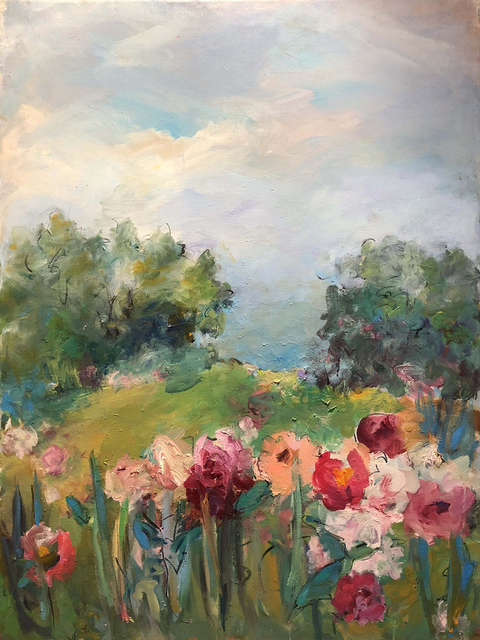 Mary Page Evans, 'Pivoines', 2015, Somerville Manning Gallery