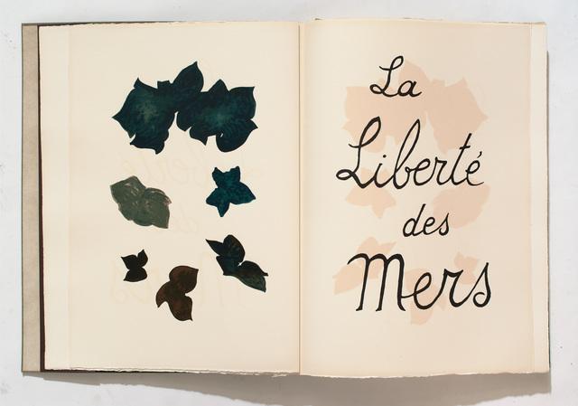 , 'La liberté des mers,' , Galerie Maeght