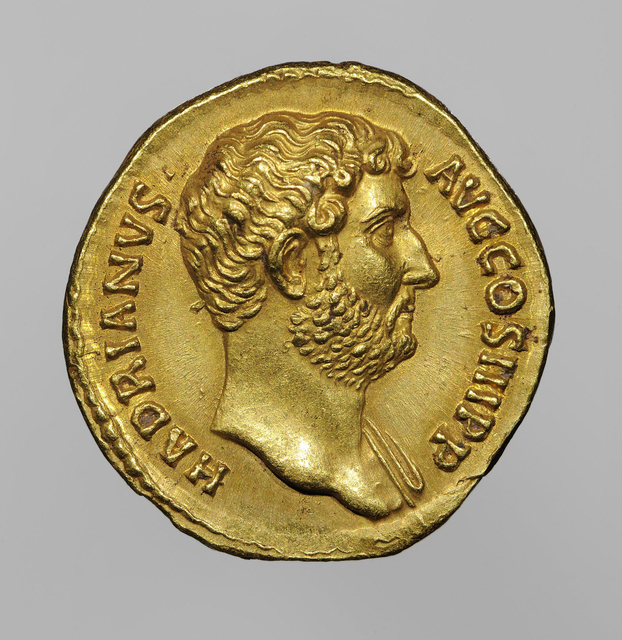 , 'Aureus of Hadrian,' 134-138, Legion of Honor