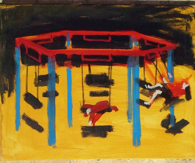 Olga Kundina, 'Nigt Swing', 2014, Painting, Oil on canvas, Rosenfeld Gallery