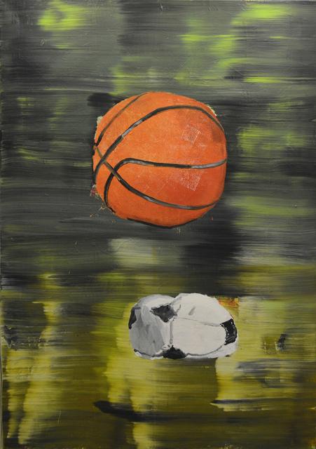 , 'Basketball vs Football,' 2016, New Art Projects