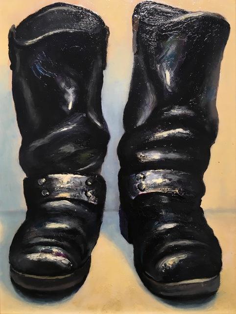 , 'Biker Boots,' 2014, Gallery NAGA