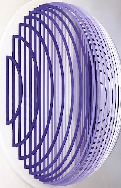 , 'Sphere Violet,' 2019, Andrea Schwartz Gallery