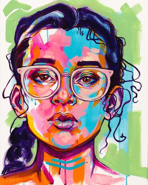 , 'Rajni,' 2018, Art Attack SF