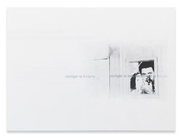 Astrid Klein, 'Corriger la fortune', 1988, Sprüth Magers