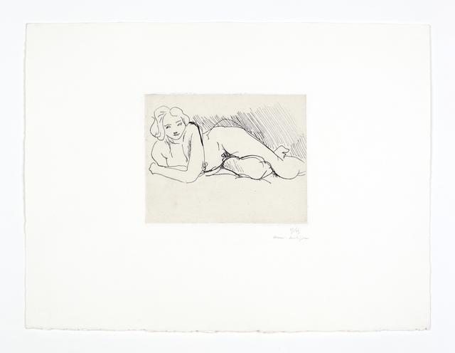 , 'Nu couché,' 1929, Bernard Jacobson Gallery