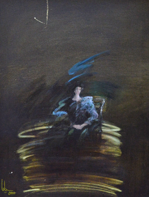 YOSUF JAHA, 'Portrait', 1990, Hafez Gallery