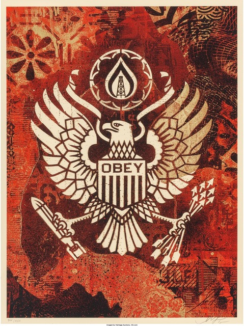 Shepard Fairey (OBEY), 'Keep it Underground', 2015, Heritage Auctions