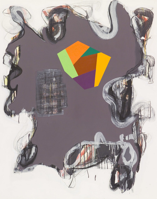 Peter Plagens, 'I Don't Give a Damn/ Every Moment Counts #1', 2010, Nancy Hoffman Gallery